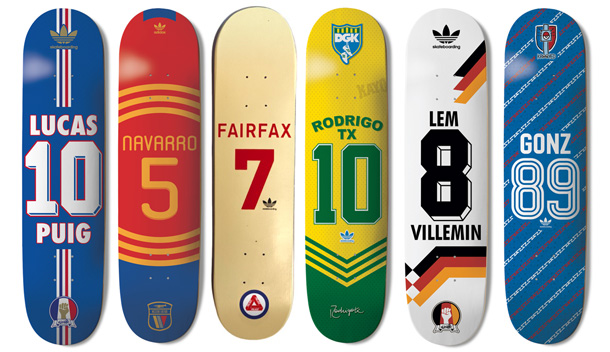 Adidas Skate Copa Decks Skateaffair