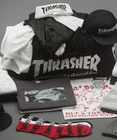 HUF x Thrasher Stoops Asia Tour 1