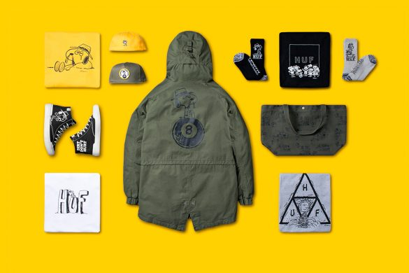 HUF X Peanuts Collaboration