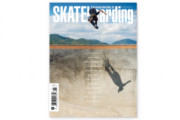 Transworld Skateboarding November 2016