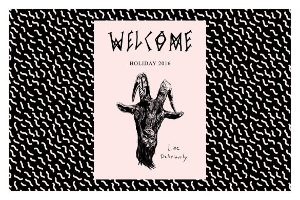 Welcome Skateboards Holiday 2016