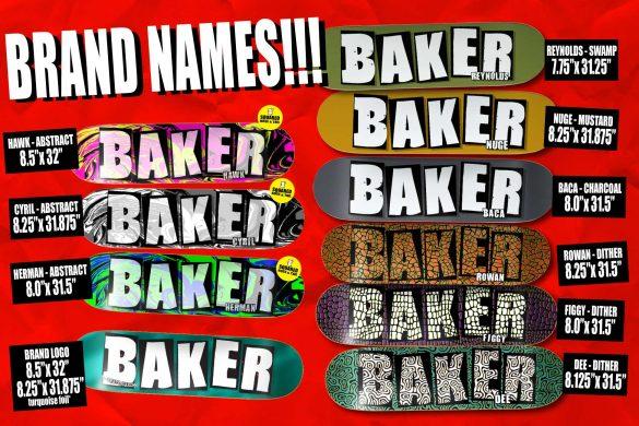 Baker Skateboards / Wiosna 2017