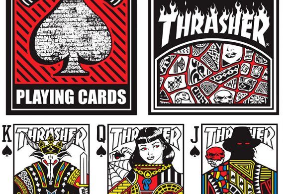 Karty do gry od Thrashera