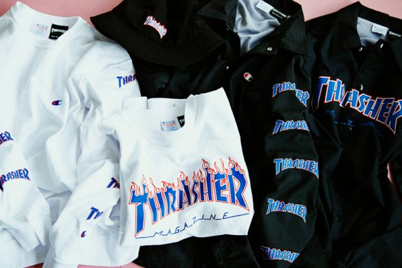 Champions x Beams Thrasher Collection