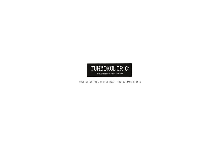 Turbokolor – Jesień/Zima 2017 – Lookbook