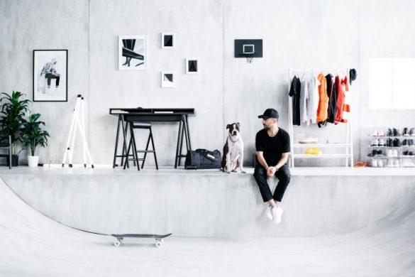 Pierwsza deskorolka IKEA