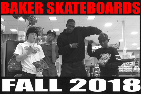 Baker Skateboards Fall 2018 Catalog