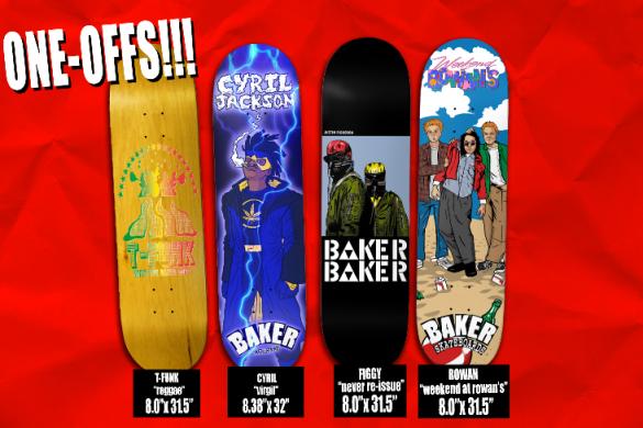 Baker Skateboards Fall 2018 Catalog