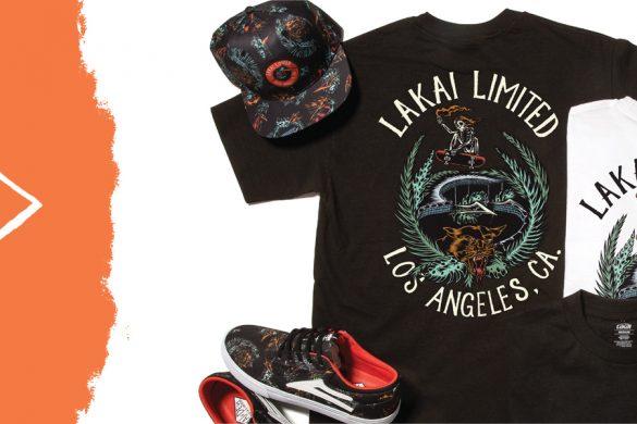Lakai x Swanski / Los Angeles Capsule