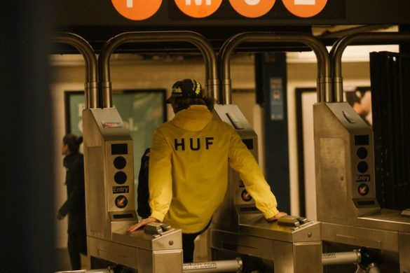 "HUF – Lookbook Wiosna 2019 ""Then & Now"""