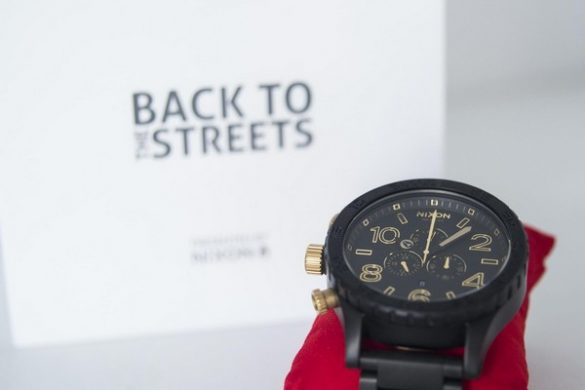 NIXON x Back to the Streets