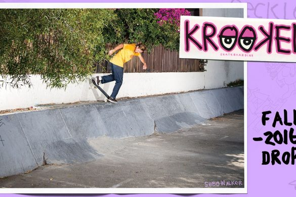 Krooked Skateboarding Fall 2016 drop 1