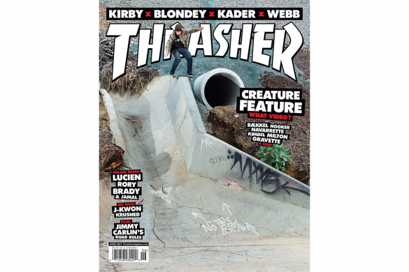 THRASHER MAGAZINE SNEAK PEAK: JUNE 2017