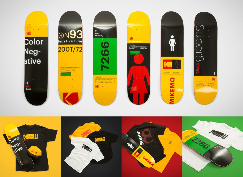 Kodak & The Girl Skateboards Co.