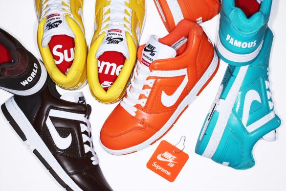 Supreme x Nike SB Air Force 2