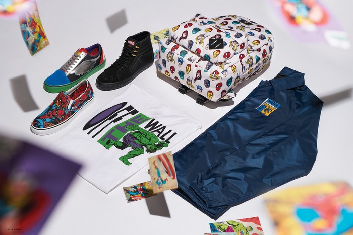 Marvel x Vans Classics 2013 Spring Collection   Marvel shoes