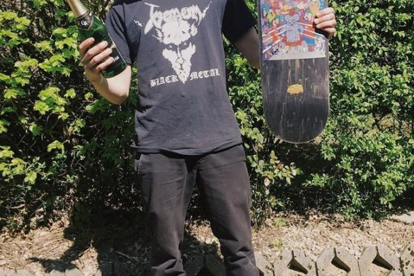 Marcin Myszka PRO dla Youth Skateboards