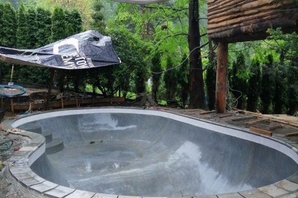 Pierwszy w Polsce backyard pool