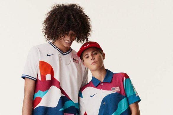 Olimpijskie skate uniformy Nike