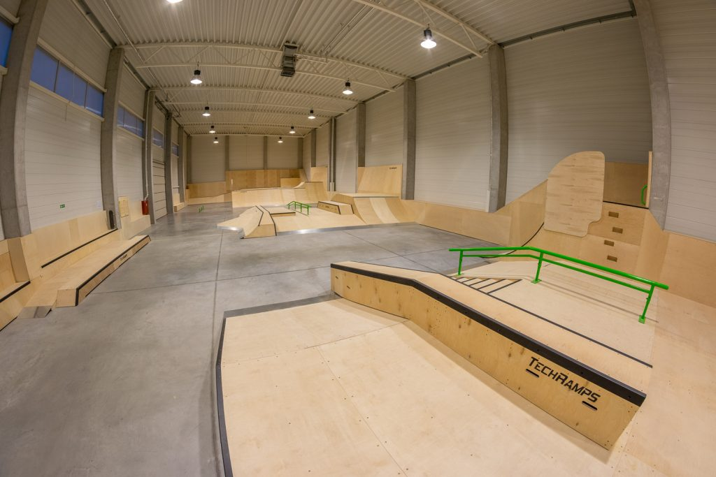 kryty skatepark w krakowie
